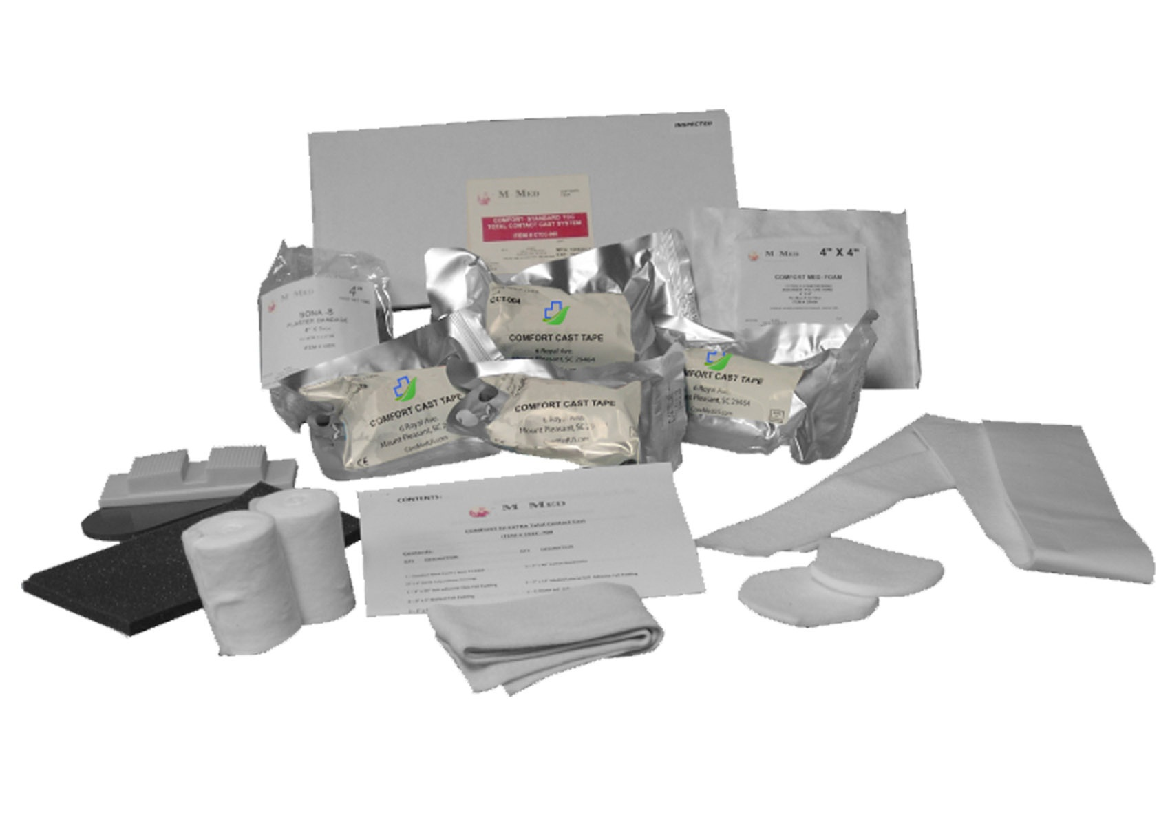 Standard Total Contact Casting Kit